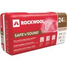 Rockwool Safe N Sound R-15 24 In. x 47 In. Stone Wool Insulation (8-Pack) Image 1