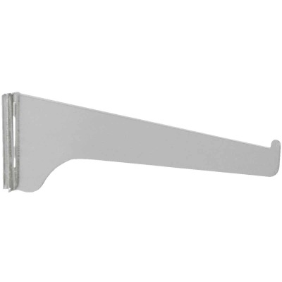 Knape & Vogt 180 Series 16 In. Anochrome Steel Regular-Duty Single-Slot Shelf Bracket