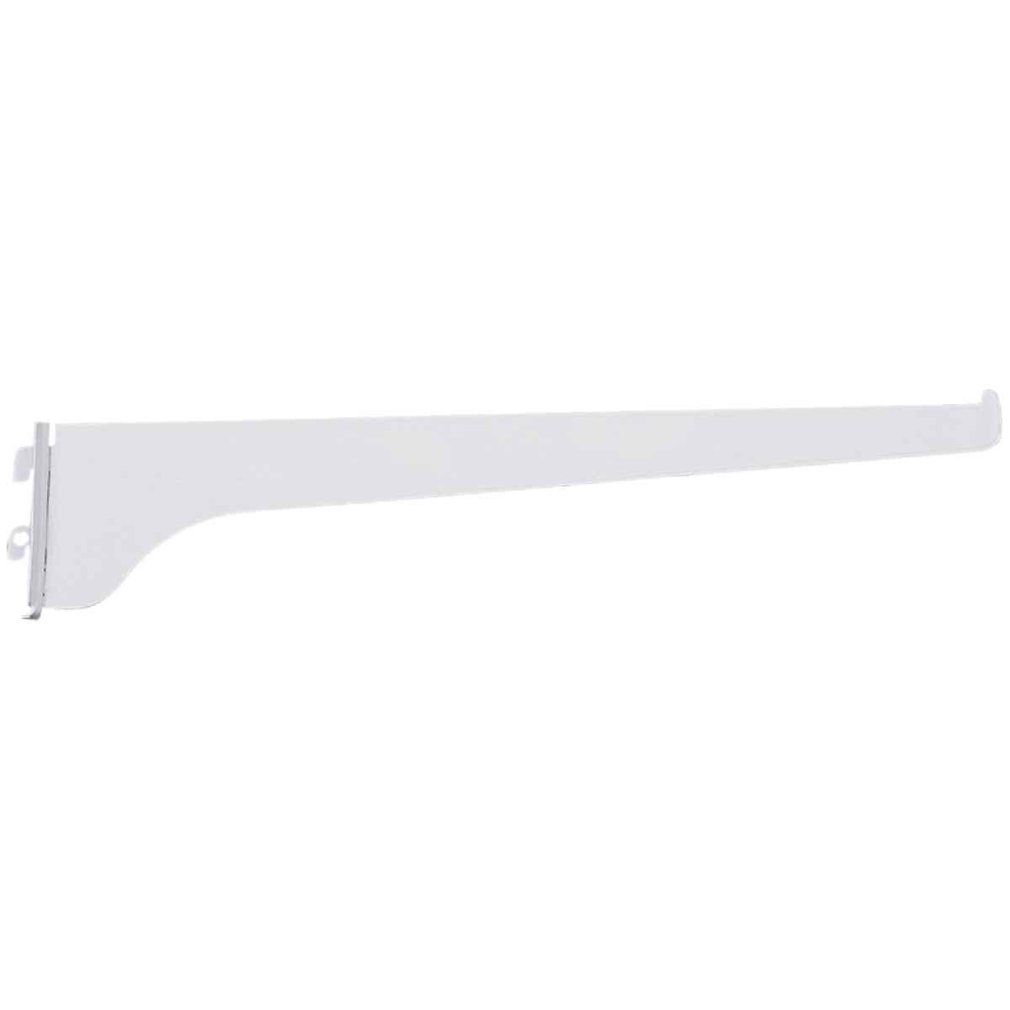 Knape & Vogt 180 Series 12 In. Titanium Steel Regular-Duty Single-Slot Shelf Bracket Image 1
