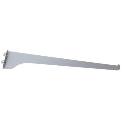 Knape & Vogt 180 Series 16 In. Titanium Steel Regular-Duty Single-Slot Shelf Bracket