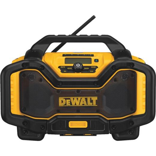 DeWalt 20 Volt Lithium-Ion Bluetooth Cordless Jobsite Radio/Charger (Bare Tool)