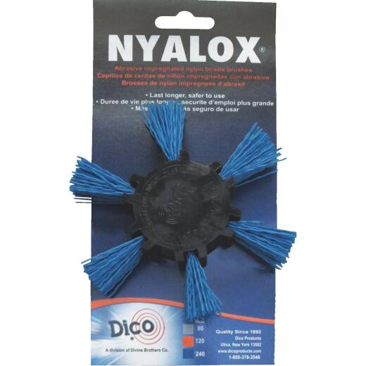 Dico 4 In. x 1/4 In. Fine Flap Brush