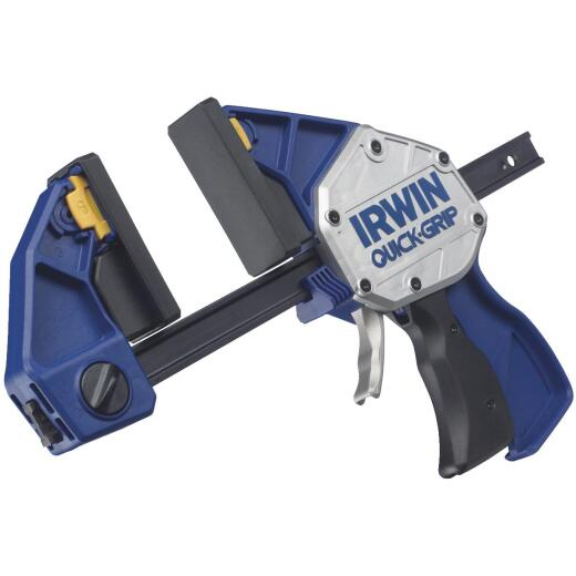 Irwin Quick-Grip XP 6 In. x 3-1/4 In. One-Hand Bar Clamp and Spreader
