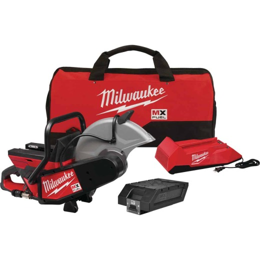 Milwaukee MX FUEL Lithium-Ion Brushless 14 In. Cordless Cut-Off Saw Kit, ONE-KEY Compatible