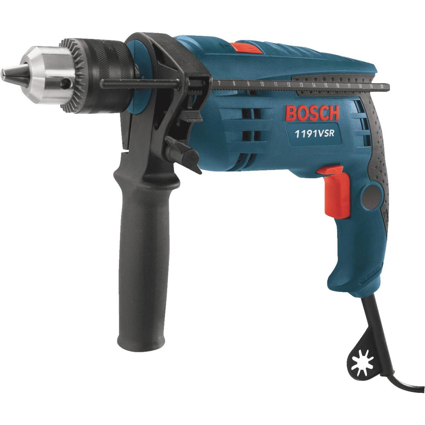 Bosch 1/2 In. Keyed 7.0-Amp VSR Electric Hammer Drill Image 1