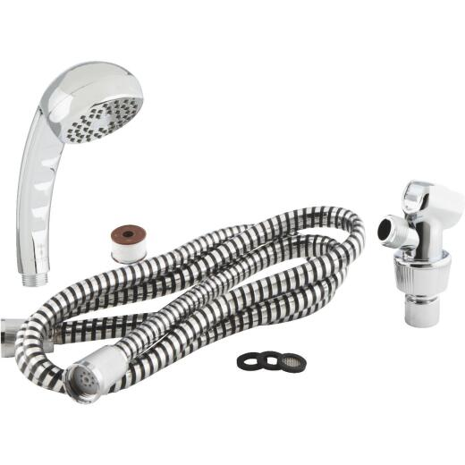 Home Impressions 1-Spray 2.0 GPM Hand-Held Shower, Chrome