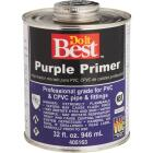 Do it Best 32 Oz. Purple Pipe and Fitting Primer for PVC/CPVC Image 1