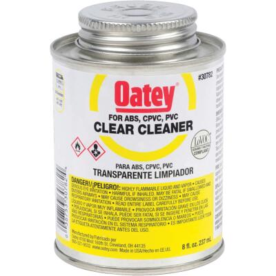 Oatey 8 Oz. All-Purpose Clear PVC Cleaner