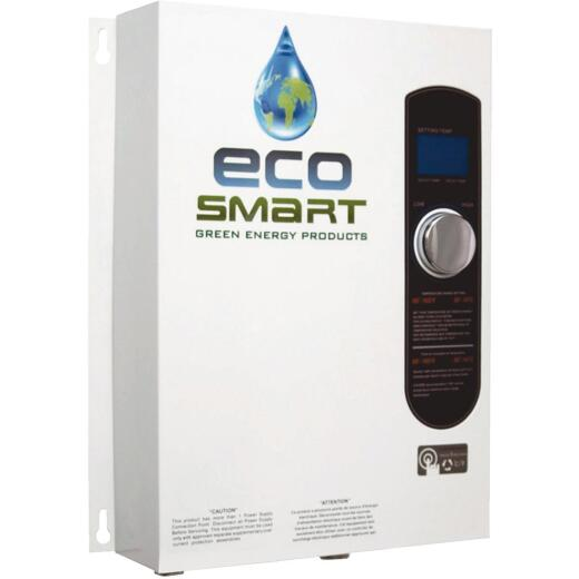 EcoSMART 240V Single Phase 18kW Electric Tankless Water Heater