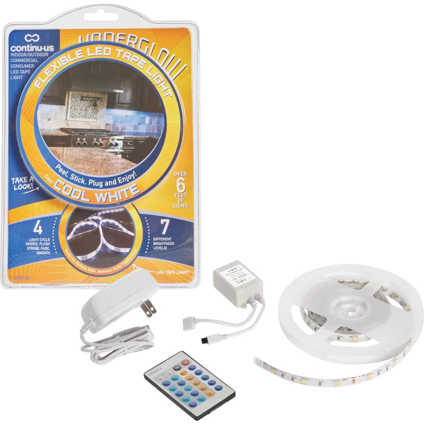 Continu-us Underglow 20 In. Plug-In Cool White LED Under Cabinet Light Image 1