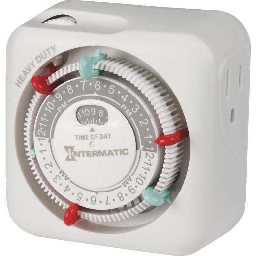 Intermatic 125V Indoor Plug-In Timer