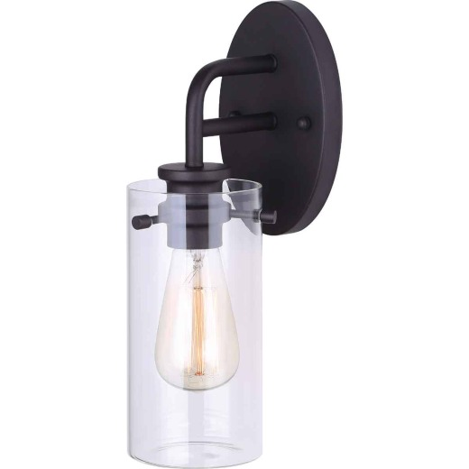 Home Impressions Albany 1-Bulb Oil Rubbed Bronze Wall Light Fixture