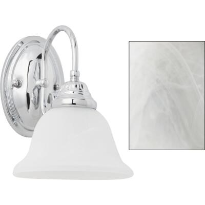 Home Impressions Julianna 1-Bulb Chrome Wall Light Fixture