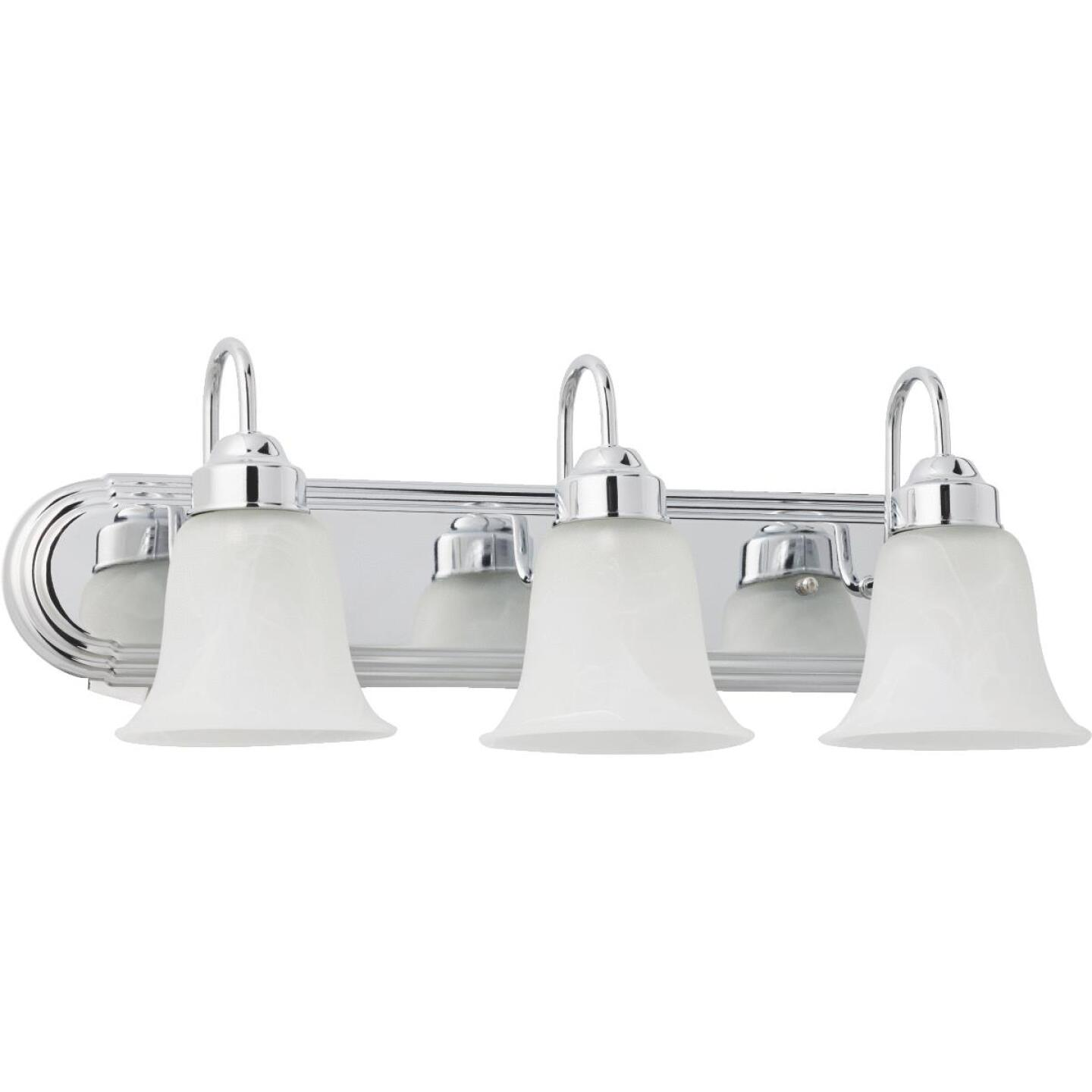 Home Impressions Julianna 3-Bulb Chrome Vanity Bath Light Bar Image 2