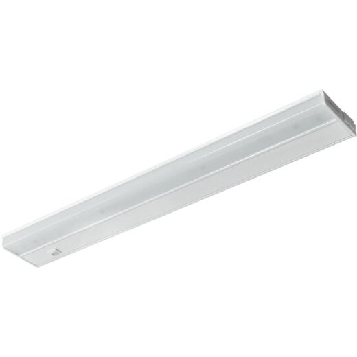 Good Earth Lighting Ecolight 18 In. Plug-In White LED Under Cabinet Light Bar