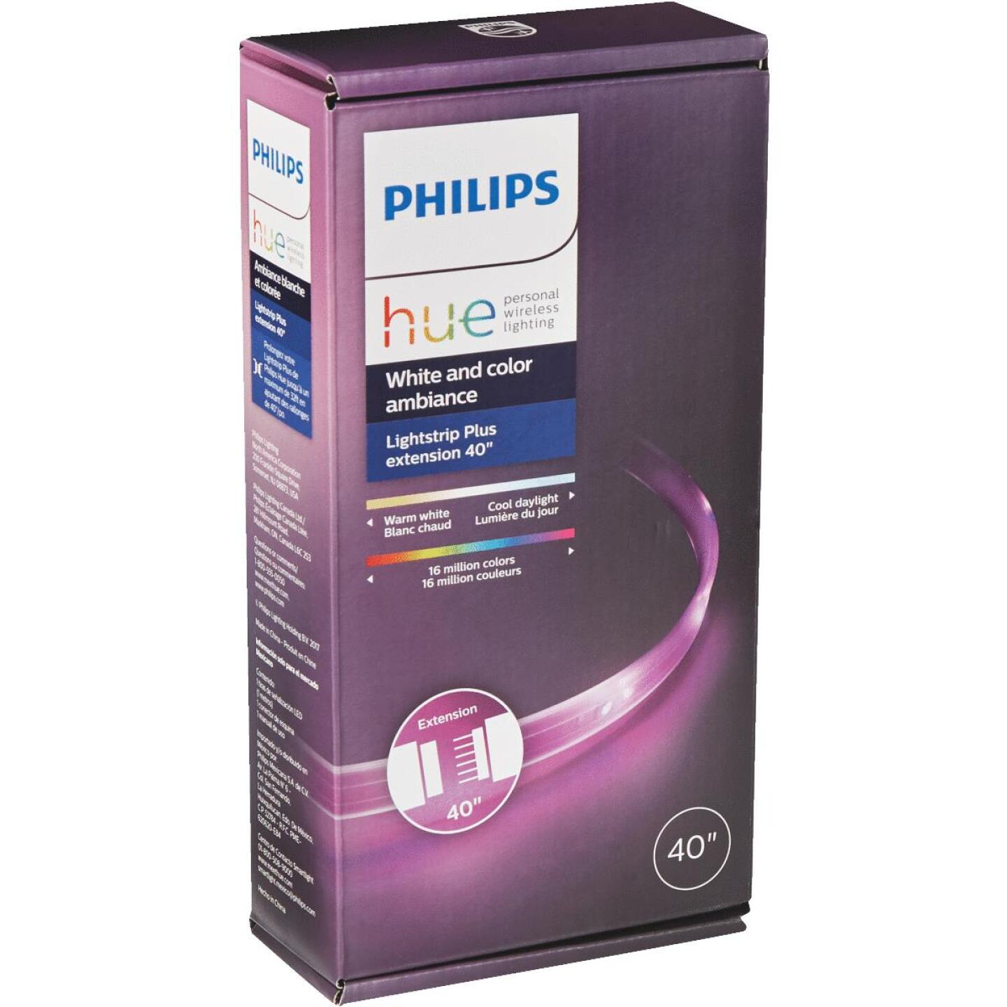 Philips Hue 40 In. Plug-In LED Lightstrip Plus Extension Image 4