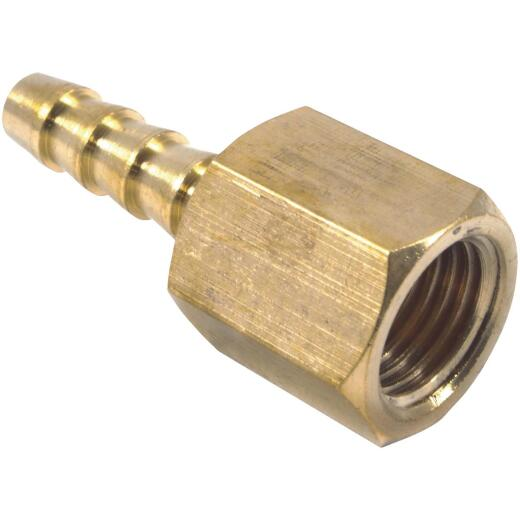 Forney 1/4 In. Barb 1/4 In. FNPT Brass Hose End