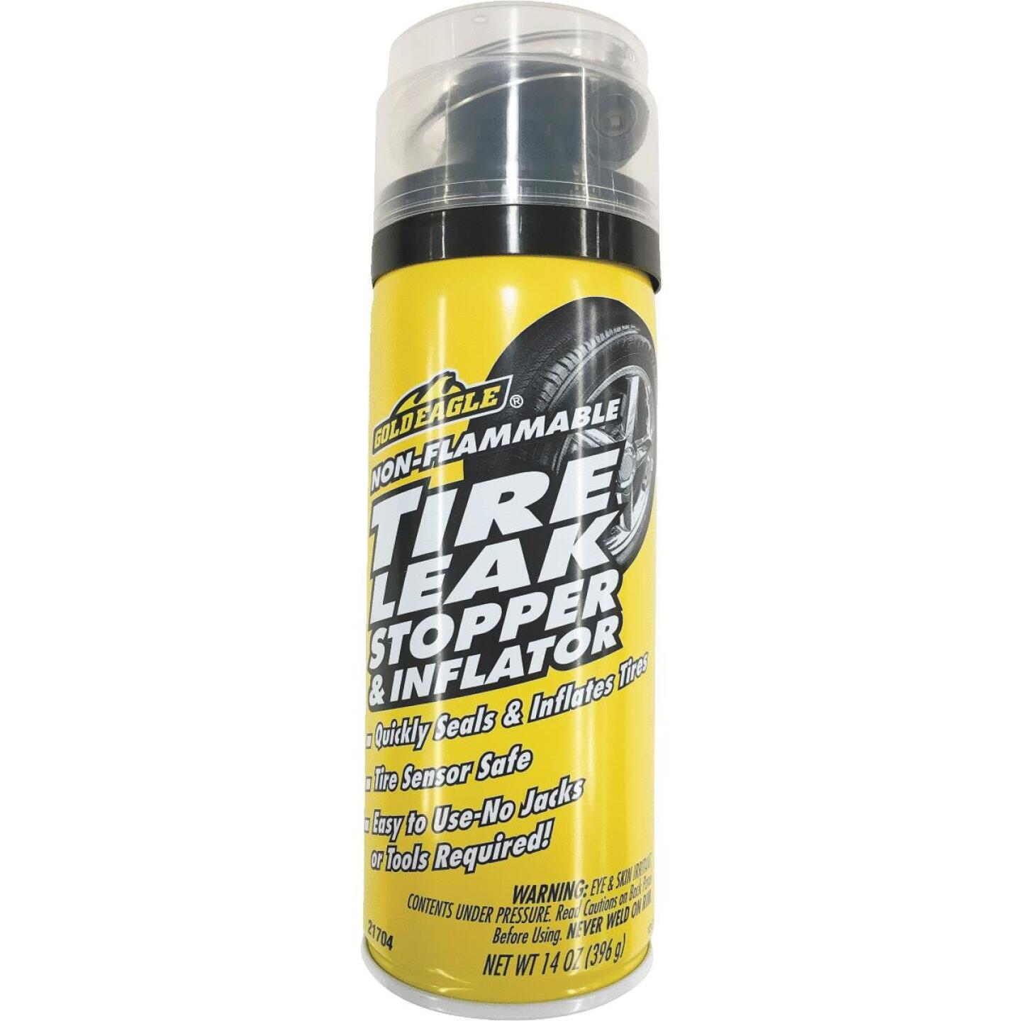 Gold Eagle 14 Oz. Aerosol Tire Puncture Sealer and Inflator Image 1
