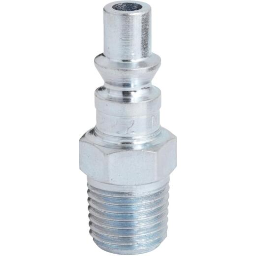 Milton 1/4 In. MPT Steel-Plated A-Style Plug