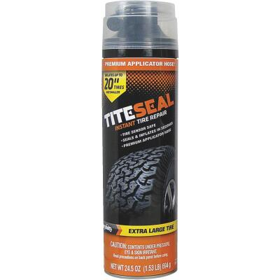 Tite-Seal 24-1/2 Oz. Aerosol Truck & SUV Tire Puncture Sealer and Inflator (with 8 In. Applicator Hose)