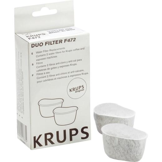 Krups Coffeemaker FME, FMF, 466, 467 Water Filter (2-Pack)