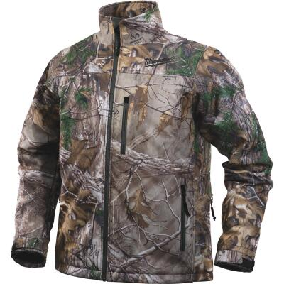 Milwaukee M12 2XL Realtree Camo Cordless Heated Jacket Kit