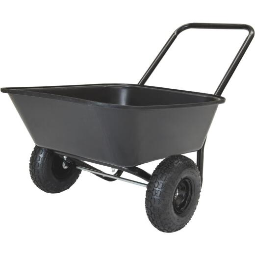 Marathon 3.5 Cu. Ft. Poly Wheelbarrow