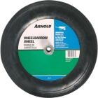 Arnold 16 x 480/400-8 In. Pneumatic Wheelbarrow Wheel with 6 In. Hub Image 2