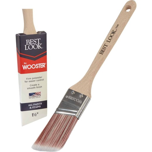 Best Look By Wooster 1-1/2 In. Angle Sash Paint Brush