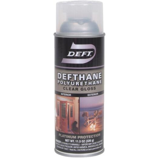 Deft Defthane Gloss Clear Spray Polyurethane, 11.5 Oz.