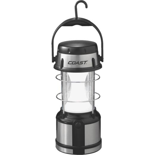 Coast EAL17 8.25 In. H. x 4.2 In. Dia. Gray Plastic LED Lantern