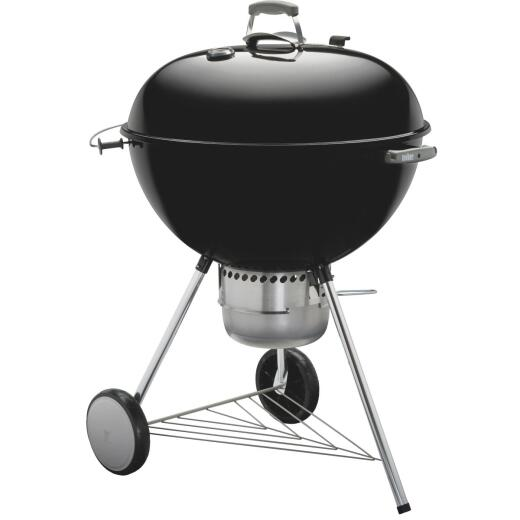 Weber Original Kettle 26 In. Dia. Black Charcoal Grill