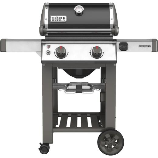 Weber Genesis II E-210 2-Burner Black 26,000-BTU Natural Gas Grill