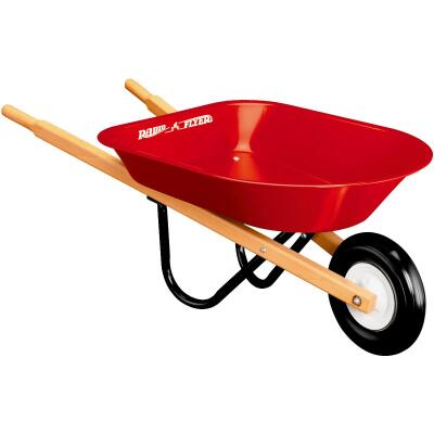 Radio Flyer 30 Lb. Steel Kid's Wheelbarrow