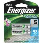 Energizer Recharge AA NiMH Rechargeable Battery (2-Pack) Image 1