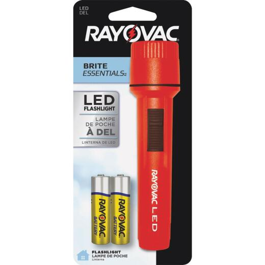 Rayovac Brite Essentials 7 Lm. LED2 AA Flashlight