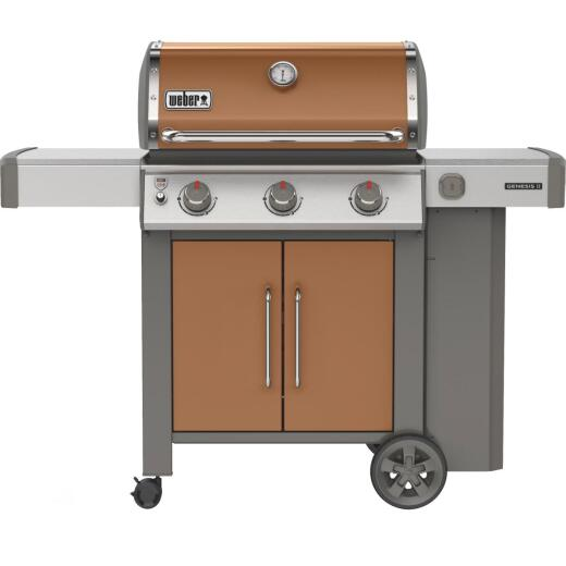 Weber Genesis II E-315 3-Burner Copper 39,000 BTU LP Gas Grill